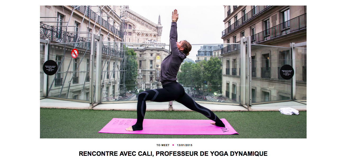 Professeur de yoga